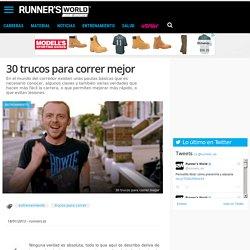 30 trucos para correr mejor