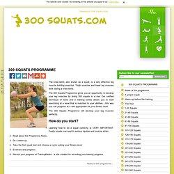 300 Squats Programme