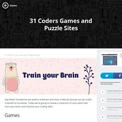 Collection of Coders Games to Improve Your Skills