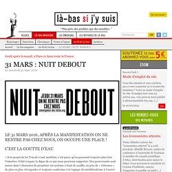 31 MARS : NUIT DEBOUT