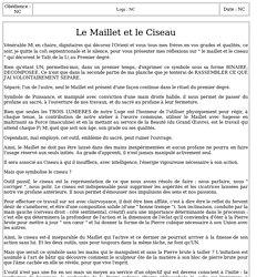 3125-6 : Le Maillet et le Ciseau