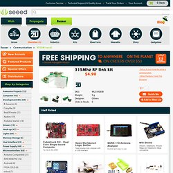 315Mhz RF link kit [WLS105B5B] - $4.90