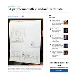 34 problems with standardized tests