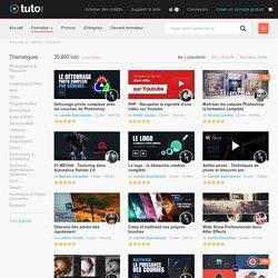 35 893 tuto et formation en vidéo sur Tuto.com