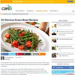 35 Glorious Green Bean Recipes