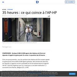 35 heures : ce qui coince à l'AP-HP
