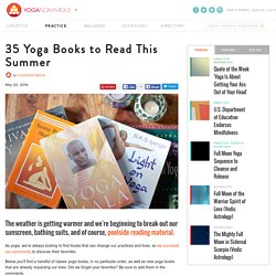 35 Yoga Books to Read This Summer