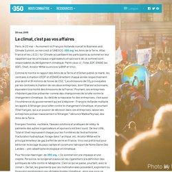 350 Francais – Le climat, c'est pas vos affaires