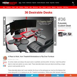 36 Desirable Desks