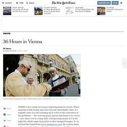 36 Hours in Vienna