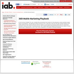 360i Mobile Marketing Playbook