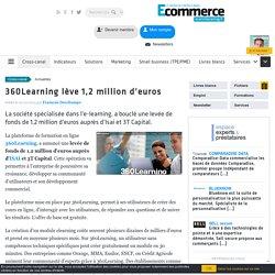 360Learning lève 1,2 million d'euros