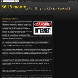 3615 mavie: Scandale sur internet !