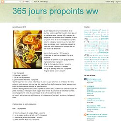 365 jours propoints ww
