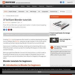 33 brilliant Blender tutorials