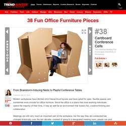 38 Fun Office Furniture Pieces