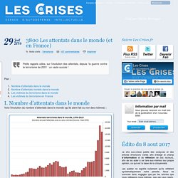 » 3800 Les attentats dans le monde (et en France)