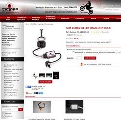 3800 Lumen H4 LED Headlight bulb