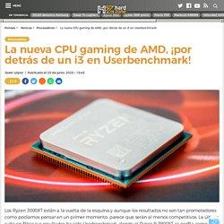 El AMD Ryzen 9 3900XT filtrado en Userbenchmark