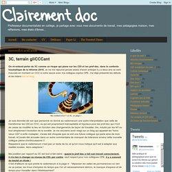 Clairement doc: 3C, terrain gliCCCant