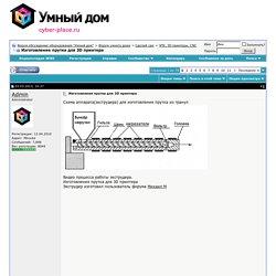 """Изготовление прутка для 3D принтера - Форум обсуждения оборудования """"Умный дом"""""""