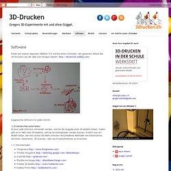 3D-Drucken: Software