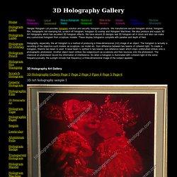 3D Hologram | 3D Holography