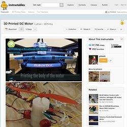 3D Printed DC Motor - All