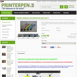 3d printer pen met lcd led display  -  3D Printer Pen