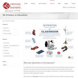 3D Printers in Education