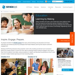 3D Printers for Schools, Universities & Education