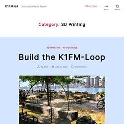 3D Printing – K1FM.us
