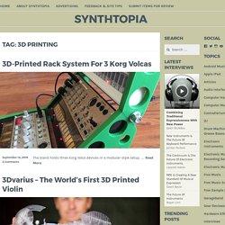 3D printing – Synthtopia