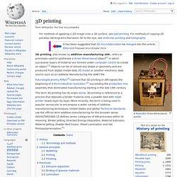 3D printing - Wikipedia (US)