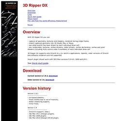 3D Ripper DX