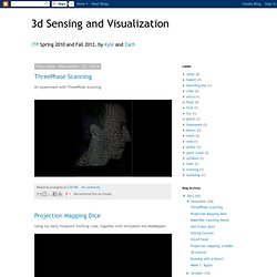 3d Sensing and Visualization