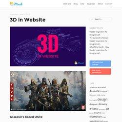 3D in Website
