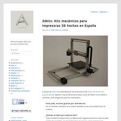 3dkits: Kits mecánicos para impresoras 3D hechos en España