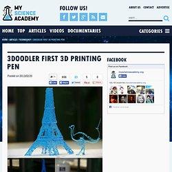 3Doodler First 3D Printing Pen