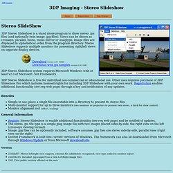 3DP Stereo Slideshow
