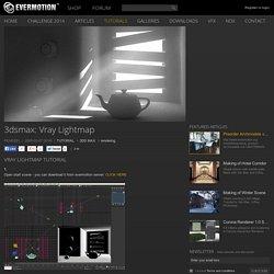 3dsmax: Vray Lightmap