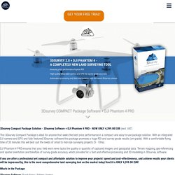 3Dsurvey COMPACT Package Software + DJI Phantom 4 PRO / Store / 3Dsurvey