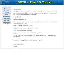 3DTK - Documentation