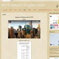 Mrs Coustalat's English corner: 3ème
