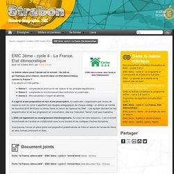 EMC 3ème - cycle 4 - La France, Etat démocratique - Histoire, Géographie, EMC