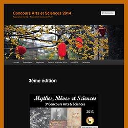 Concours Arts et Sciences 2014