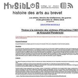 HDA 3ème - Sujet N°2 - Education musicale