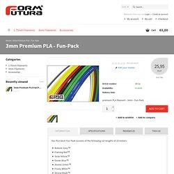 3mm Premium PLA - Fun-Pack - Formfutura