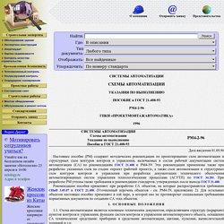 РМ 4-2-96 Системы автоматизации. Схемы автоматизации. Указания по выполнению. Пособие к ГОСТ 21.408-93