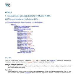 4.8 Links — HTML5